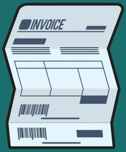 Invoice cartoon