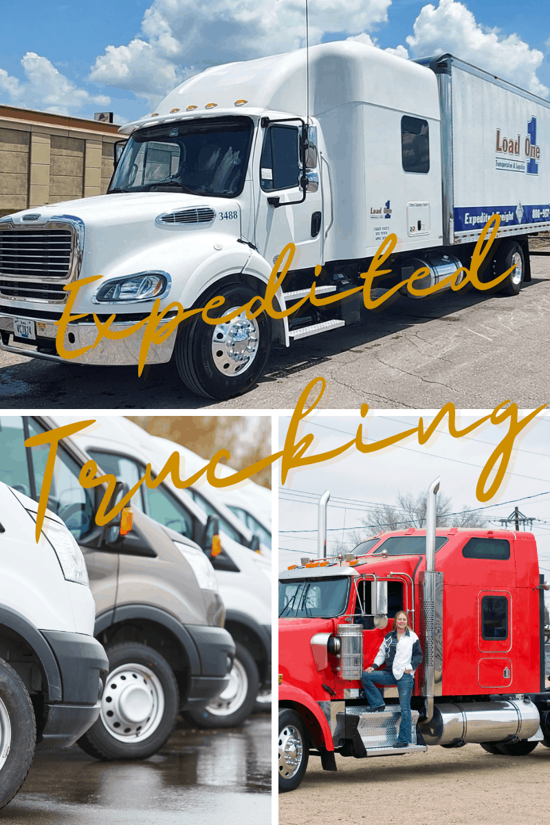 Varies Equipment used in expedited trucking